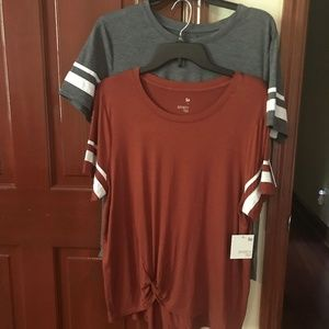 2 for the price of one!  Kohl's SO Varsity Tee